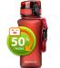 Бутылка для воды спортивная Uzspace  (350ml) красная  (6007RD)
