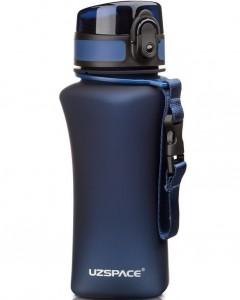 фото Бутылка для воды спортивная Uzspace  (350ml) синяя (6007DB) #2