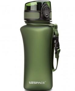 фото Бутылка для воды спортивная Uzspace  (350ml) зеленая  (6007GN) #2