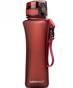 фото Бутылка для воды спортивная Uzspace  (500ml) красный (6008RD) #2