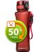 Бутылка для воды спортивная Uzspace  (500ml) красный (6008RD)