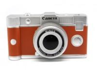 Подарок Копилка 'Фотокамера', коричневая (p337)