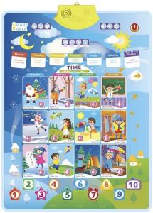 Аудіо-постер інтерактивний Smart Koala 'Час і Пори року'