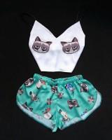 Пижама Swatti 'Cat' (M-L)