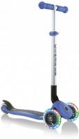 Самокат Globber Primo Foldable Lights колеса с подсветкой до 50 кг 3+ 3 колеса Синий (4897070184862)