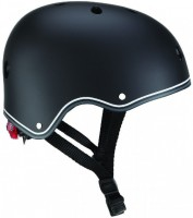 Шлем защитный детский Globber с фонариком Черный  48-53 см (XS/S)  (4897070184435)