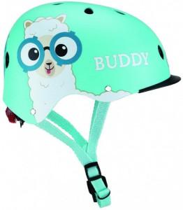 Шлем защитный детский Globber с фонариком Дружище 48-53 см (XS/S)  (4897070184602)
