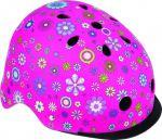 фото Шлем защитный детский Globber с фонариком Цветы розовый (507-110) (4897070184527) #3