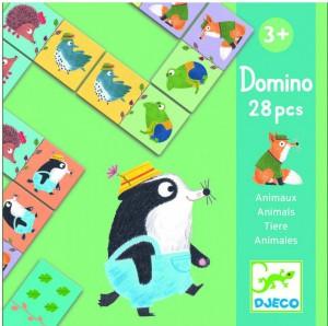 Детское домино Djeco 'Веселые животные' (DJ08115)