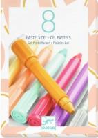 Гелевые карандаши - теплые оттенки Djeco (DJ08814)