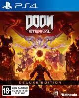 игра DOOM Eternal Deluxe Edition  PS4 - русская версия
