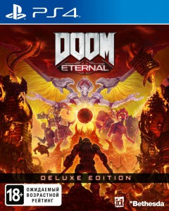 игра DOOM Eternal Deluxe Edition  PS4 - русская версия