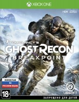 игра Tom Clancy's Ghost Recon: Breakpoint Xbox One  - Русская версия