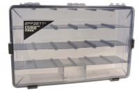 Коробка для приманок DAM Effzett Waterproof Lure Case XL 36х23x9см (52653)