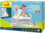 Трехмерная головоломка-конструктор CubicFun 'Игрушечный Дом' (P693h)