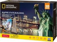 Трехмерная головоломка-конструктор CubicFun National Geographic 'Empire State Building' (DS0977h)