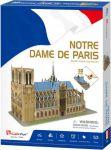 Трехмерная головоломка-конструктор CubicFun 'Notre Dame De Paris' (C242h)