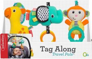 Набор навесных игрушек Infantino 'В путешествие' (3021105069423)