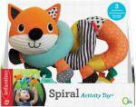 Развивающая игрушка-спираль Infantino 'Лисичка' (3021105162872)
