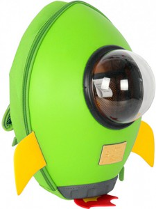 фото Рюкзак Supercute Ракета Зеленый (SF038 b) #2