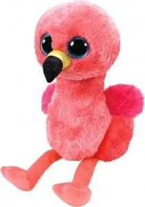 Мягкая игрушка ТУ Beanie Boo's  Фламинго Gilda 25 см (37262)
