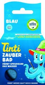 Волшебная бомбочка для ванны Tinti Голубая (4030651042124)
