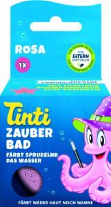 Волшебная бомбочка для ванны Tinti Розовая (4030651042148)