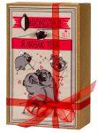 Подарок Шоколадный набор Shokopack Крафт-Мопс 'Я люблю тебя' 20 х 5 г (4820194870441)