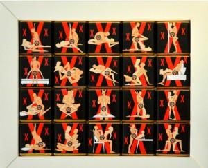 фото Шоколадный набор Shokopack 'XL ХХХ' 20 х 5 г (4820194870069) #2