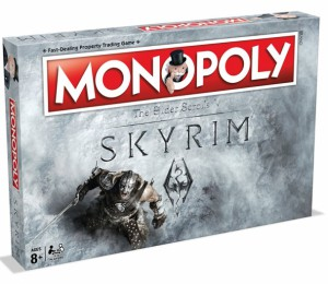 Настольная игра Winning Moves 'Monopoly SKYRIM' (028721)