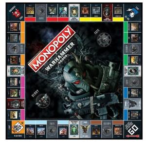 фото Настольная игра Winning Moves 'Monopoly Warhammer 40K'(035484) #4