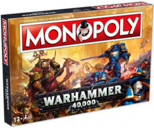 Настольная игра Winning Moves 'Monopoly Warhammer 40K'(035484)