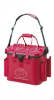 Сумка Prox EVA Tackle Bag With Rod Holder 35л  красная (18500150)