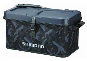 Сумка Shimano Hard EVA Tackle Boat Bag 32L 30x52x32см, цвет camou (22669109)