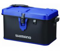 Сумка Shimano Hard Tackle Boat Bag 22L 30x38x32см цвет black/blue (22669104)