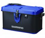 Сумка Shimano Hard Tackle Boat Bag 27L 30x45x32 см, цвет black/blue (22669105)