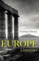 Книга Europe. A history