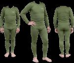 Термобелье мужское Tramp Warm Soft комплект (кофта+кальсоны) TRUM-019 L-XL оливковый