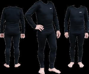 Термобелье мужское Tramp Warm Soft комплект (кофта+кальсоны) TRUM-019 XXL черный