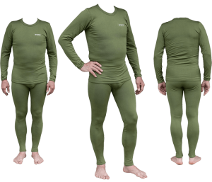 Термобелье мужское Tramp Warm Soft комплект (кофта+кальсоны) TRUM-019 XXL оливковый