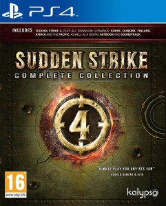 игра Sudden Strike 4 Complete Collection PS4 - Русская версия