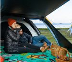 фото Палатка туристическая Naturehike Knight 3+UPF50 190T polyester (NH19G001-Y) #15