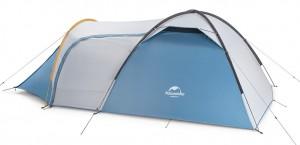 фото Палатка туристическая Naturehike Knight 3+UPF50 190T polyester (NH19G001-Y) #2