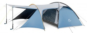 фото Палатка туристическая Naturehike Knight 3+UPF50 190T polyester (NH19G001-Y) #3