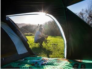 фото Палатка туристическая Naturehike Knight 3+UPF50 190T polyester (NH19G001-Y) #8