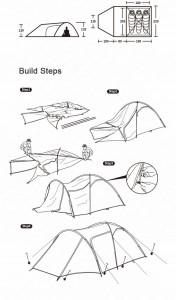 фото Палатка туристическая Naturehike Knight 3+UPF50 190T polyester (NH19G001-Y) #13