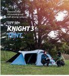 фото Палатка туристическая Naturehike Knight 3+UPF50 190T polyester (NH19G001-Y) #11