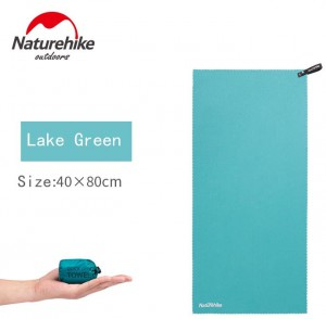 фото Полотенце Naturehike MJ01 Ultralight 80 х 40 lake green (NH19Y001-J) #2
