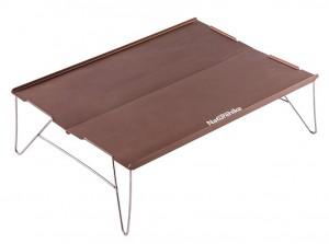 Стол походной Naturehike  Compact Table 340 х 250 мм коричневый (NH17Z001-L)