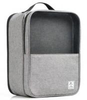 Чехол-органайзер Naturehike Multifunctional Shoe Bag 34х24х15 см heather grey (NH17X016-B)